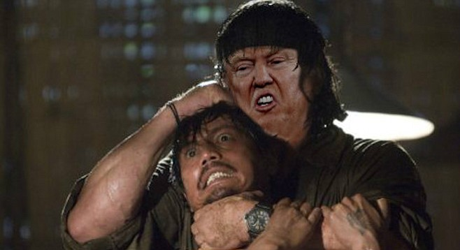 Trumpbo frees an American job from a foreigner.