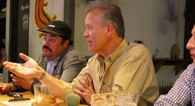 Tijuana mayoral candidate Gastón Luken Garza
