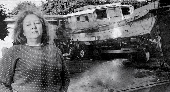 """Sylvia Repine: """"I knew nothing about boats, let alone junks. But I had always wanted to live by the sea."""""""