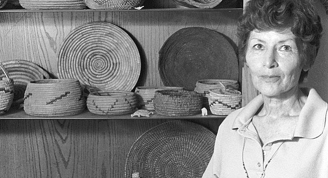 """Daleane Adams' grandmother, Isabell Thing, was famous in San Diego as a medicine woman. """"She was a full-blooded Indian originally from around Balboa Park."""""""