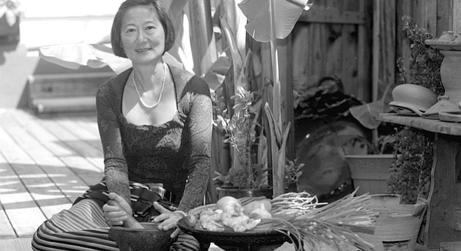Su-Mei Yu uses the little Thai house for entertaining close friends and visiting culinary bigwigs like Julia Child and Vogue food writer Jeffrey Steingarten.