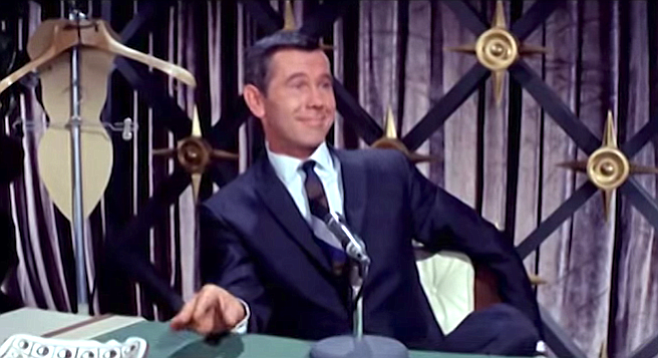 "Johnny Carson's only performance in a movie was as ""Himself"" in a 1964 Connie Francis musical comedy"