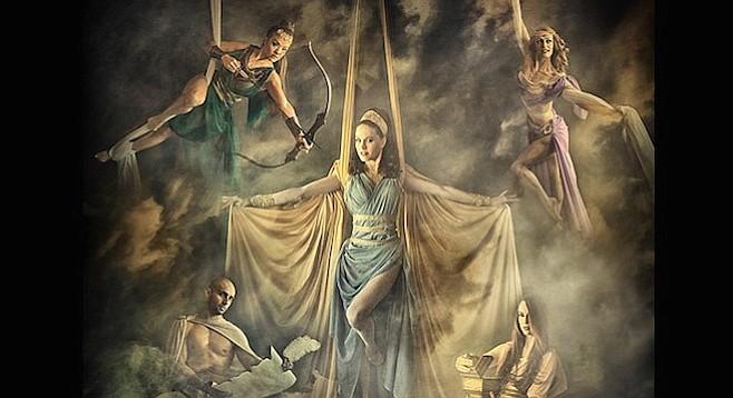 Cecilia Marie, Laura Dasi, Kiona Daelyn, Armando Muñoz, Zoe Irvine, Jennifer Curry Wingrove in Mythos