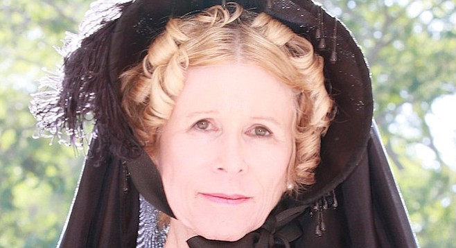 Annette Hubbell wrote and performs the one-person show about the battle that resulted in the most casualties of the Civil War.