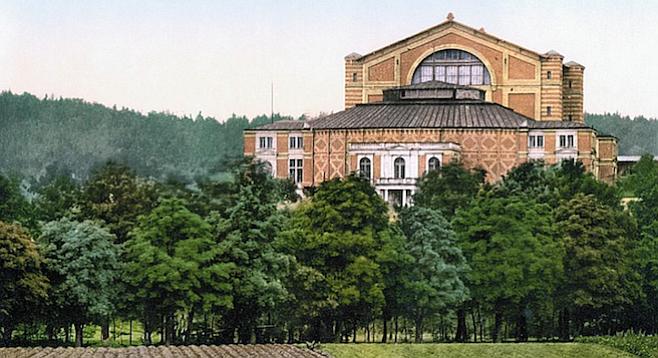 The Bayreuth Festival House.