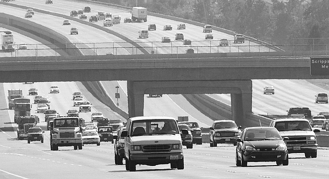 """Nothing beats the I-15 corridor. """"This traffic today reminds me of LA. 20 years ago."""""""