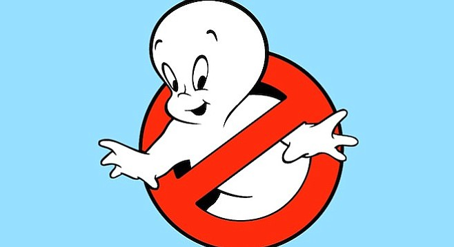 Forget Marvel and DC. It's time the inventive minds at Sony teamed with Harvey Comics for Casper the Friendly Ghostbuster.
