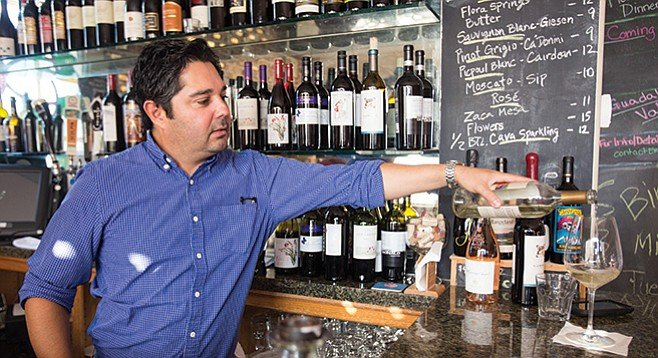 Gilbert Bravo at Proprietors Reserve wine bar