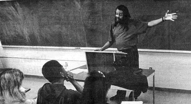 Teaching at UCSD. By the time Quincy Troupe was 14, he had read Ellison, Himes, Faulkner, and Hemingway.
