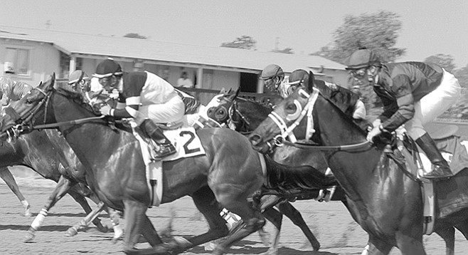Start of a race at Del Mar