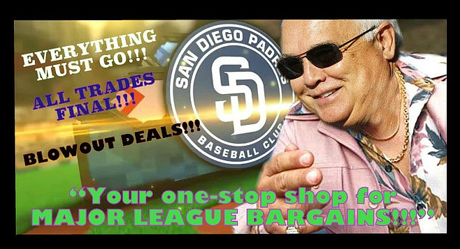 Because the only thing more American than baseball is getting an AWESOME DEAL on GENTLY USED TALENT!