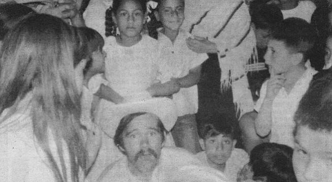 The author in El Salto de Huanacatlán, 1968
