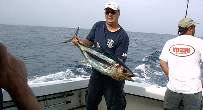 Rare albacore in the mix san diego reader for Tuna fishing san diego