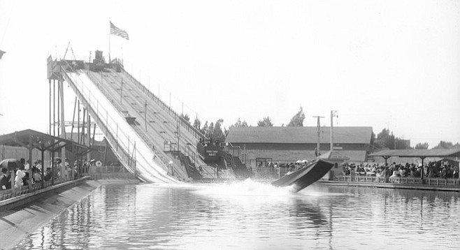Horsley Park (formerly Chutes Park) in Los Angeles, c. 1905