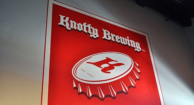 Knotty Brewing Co. tasting room opens in September.