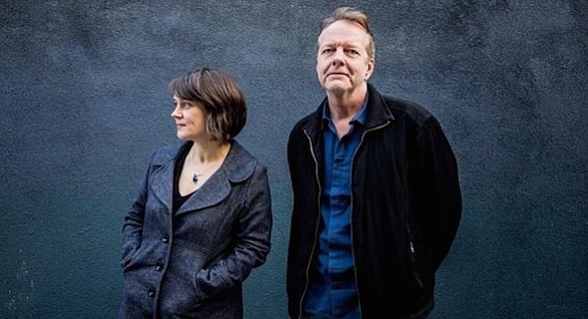 Ingrid Laubrock and Tom Rainey