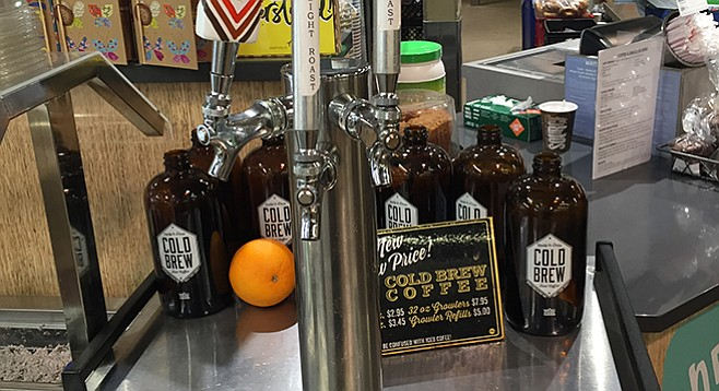 Modern Times Cold Brew on tap