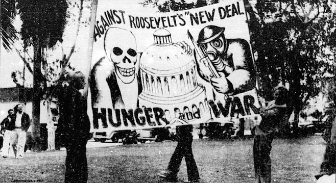 If Roosevelt is nominated, my husband will vote for him, but I won't.