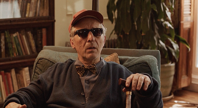 Joe Grifasi as Mr. Davenport in No Pay, Nudity, playing this weekend as part of the San Diego Film Festival