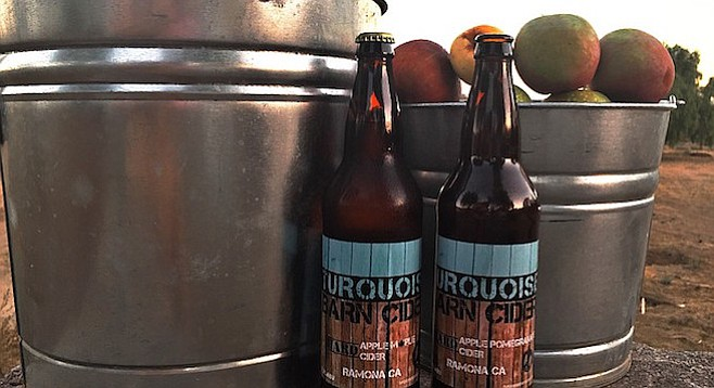 Ramona-grown apples contribute to Turquoise Barn Cider