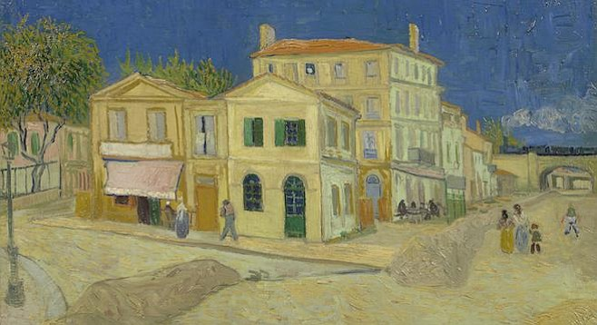 Van Gogh's The Yellow House