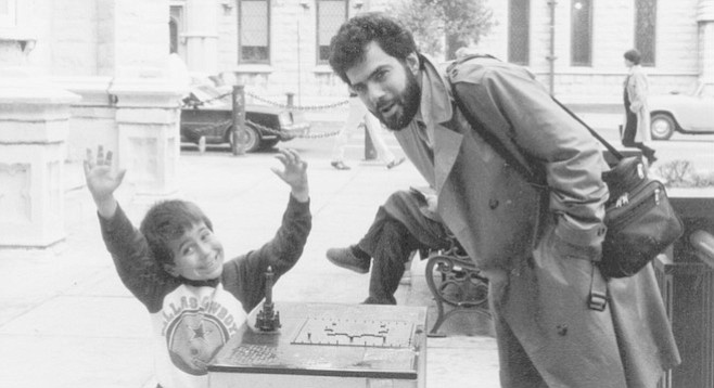 Author John Brizzolara and his son. Remember that life is mostly failure.