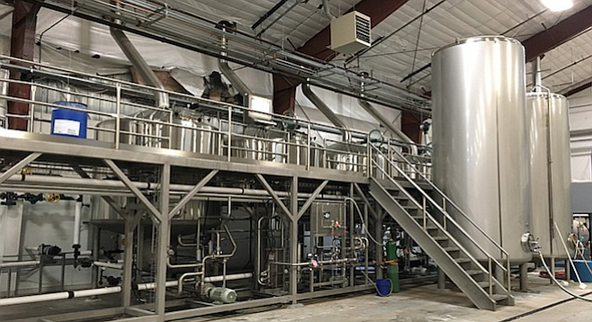 Mother Earth's Nampa, Idaho brewery went online in August.