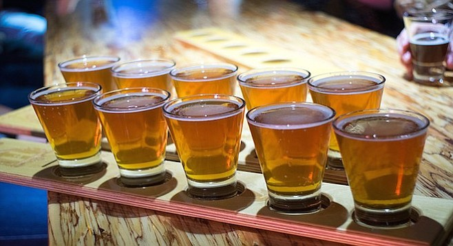 You cannot drink them all. But you can cover quite a few of them by checking out the following events.