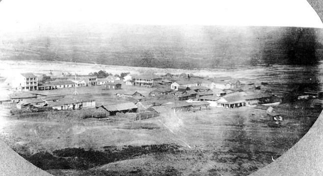 Old Town from Presidio Hill, c. 1867
