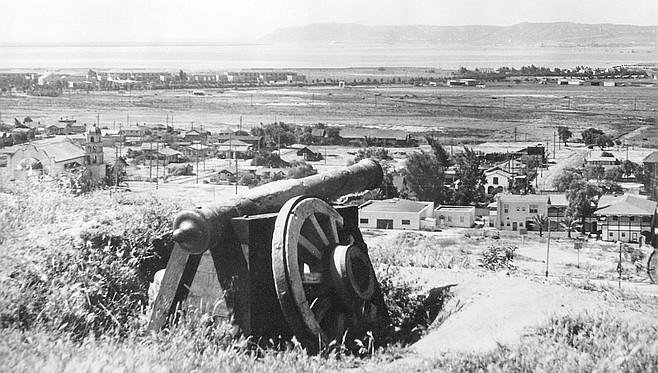 Cannon at Presidio, 1928
