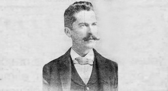 "William H. Carlson (1864-1937). The Union article called Billy ""the last and most pertinacious of the blatant and shallow band of adventurers who fattened on false pretenses during the boom."""