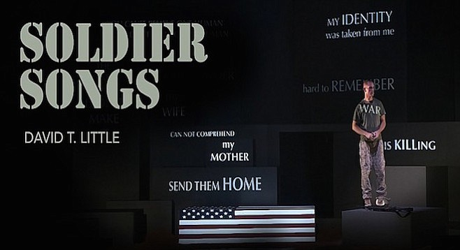 Soldier Songs explores the reality of the soldier versus the romance of war.