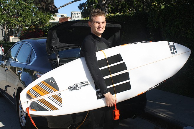 "Christopher Mirendil: ""Today I had an awful day surfing."""