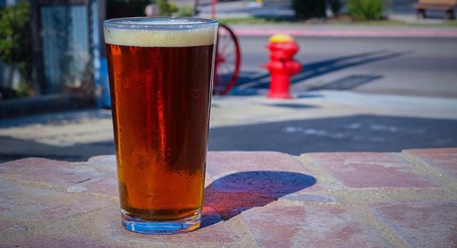 Firehouse's Mutt light amber complements a grueling summer day