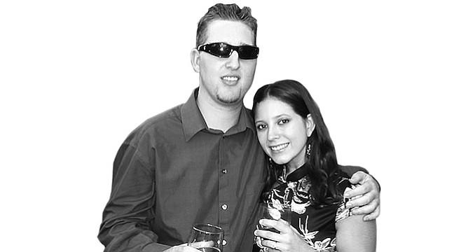 Kathryn Stafford and Michael Strom