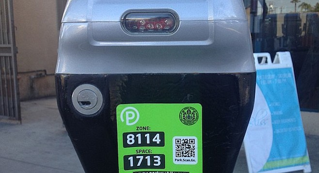 The new meters have the capability to alert parking enforcement remotely.