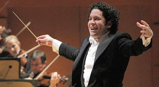 Gustavo Dudamel is the youngest conductor to be given the New Year's honors in Vienna.