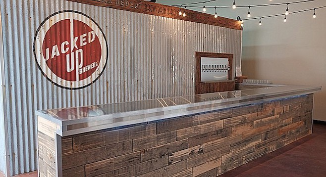 Escondido's Jacked Up Brewery coming in January 2017