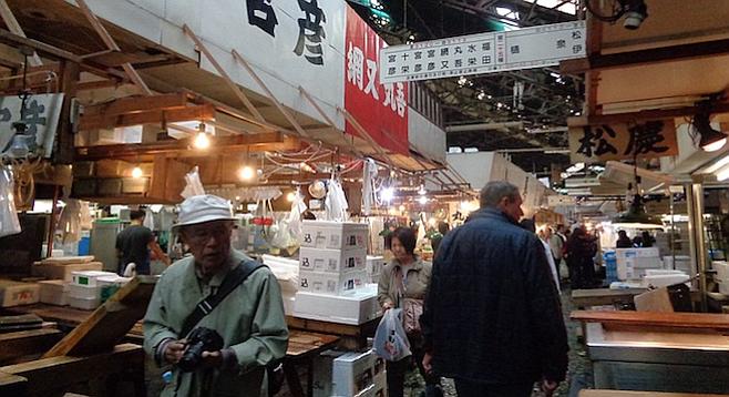 Asia travel reviews san diego reader for Tsukiji fish market chicago