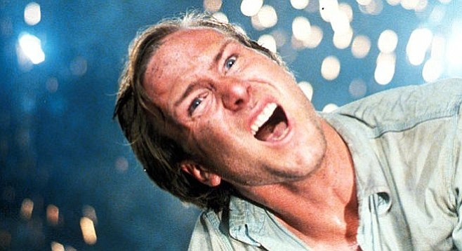 Tanks for the memory. William Hurt in Ken Russell's Altered States.