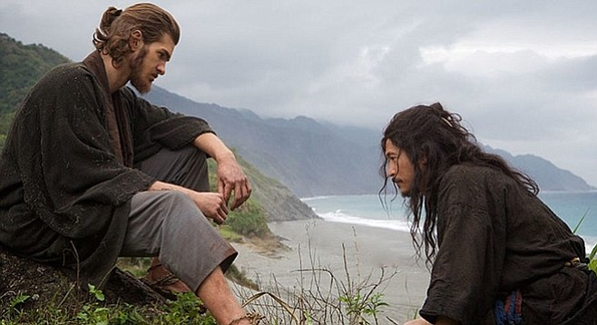 Silence: Andrew Garfield ponders the limits of God's mercy.