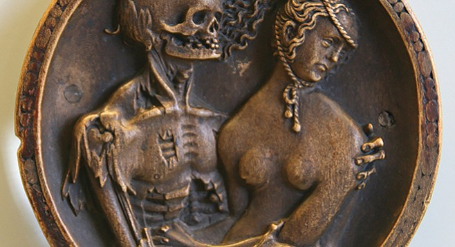 Death and the Maiden, 1520, by Hans Schwarz