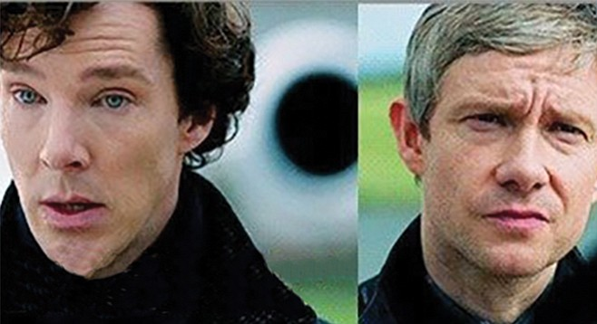 """Since it's unlikey that we'll ever meet again, I may as well say it now. Sherlock is actually a girl's name."""