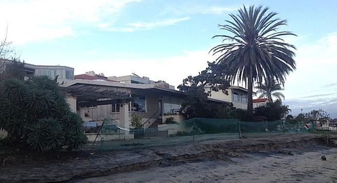 Imagine a condo complex here (405 San Antonio Avenue)