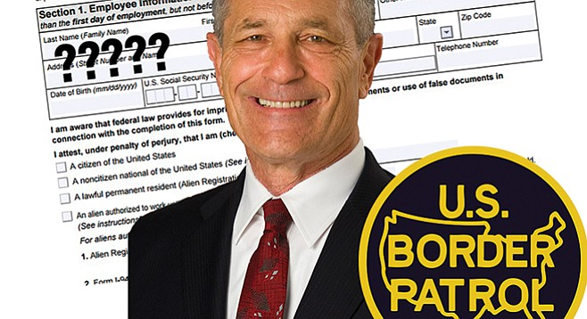 Alan Bersin seems a pro on immigration policy...and a beginner on how to properly vet household personnel.