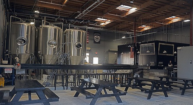 SpecHops brewery in Vista has a mission to honor service and serve tasty beer.