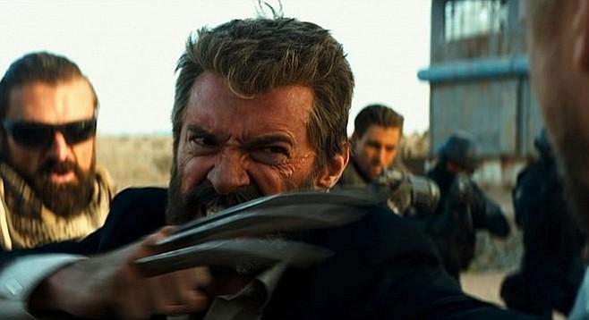 Logan: Hugh Jackman stars as a very grumpy old man.