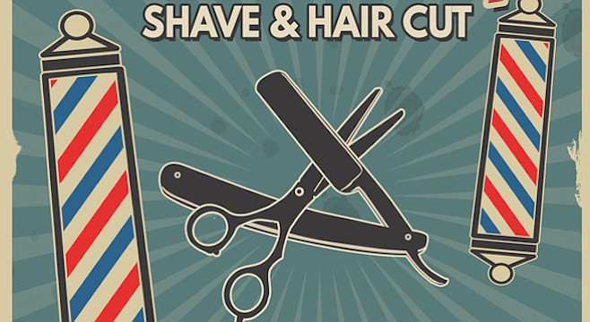 Where Did Shave And A Haircut Two Bits Come From San Diego Reader
