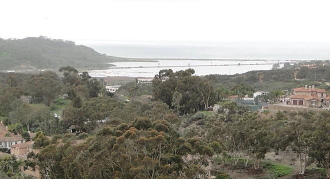 Carmel Mountain Preserve overlooking Penasquitos Lagoon