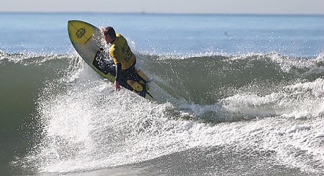 The Kneelo: Surfing's white rhinoceros?